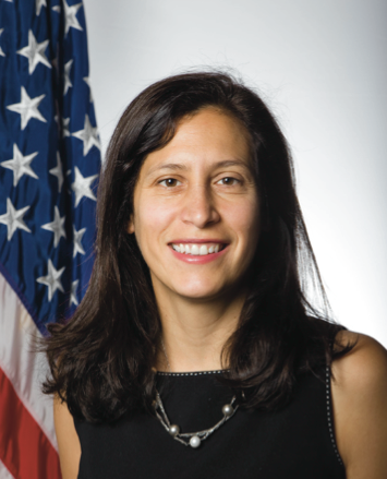 "Victoria Espinel, appointed by President Obama in 2009, whose office says a new law is necessary ""to address offshore infringement."""
