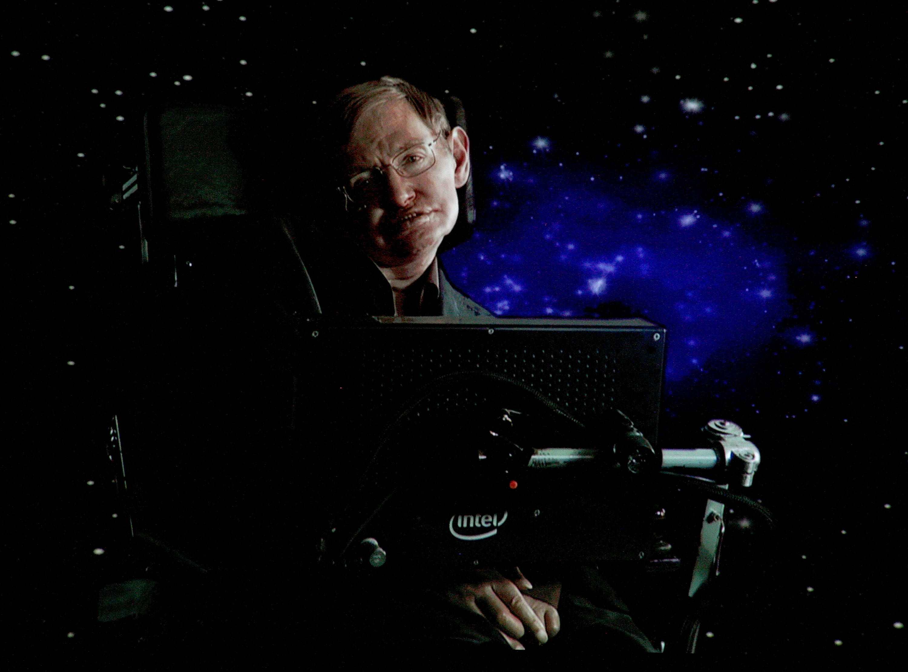 <p>Stephen Hawking is laid to rest.</p>