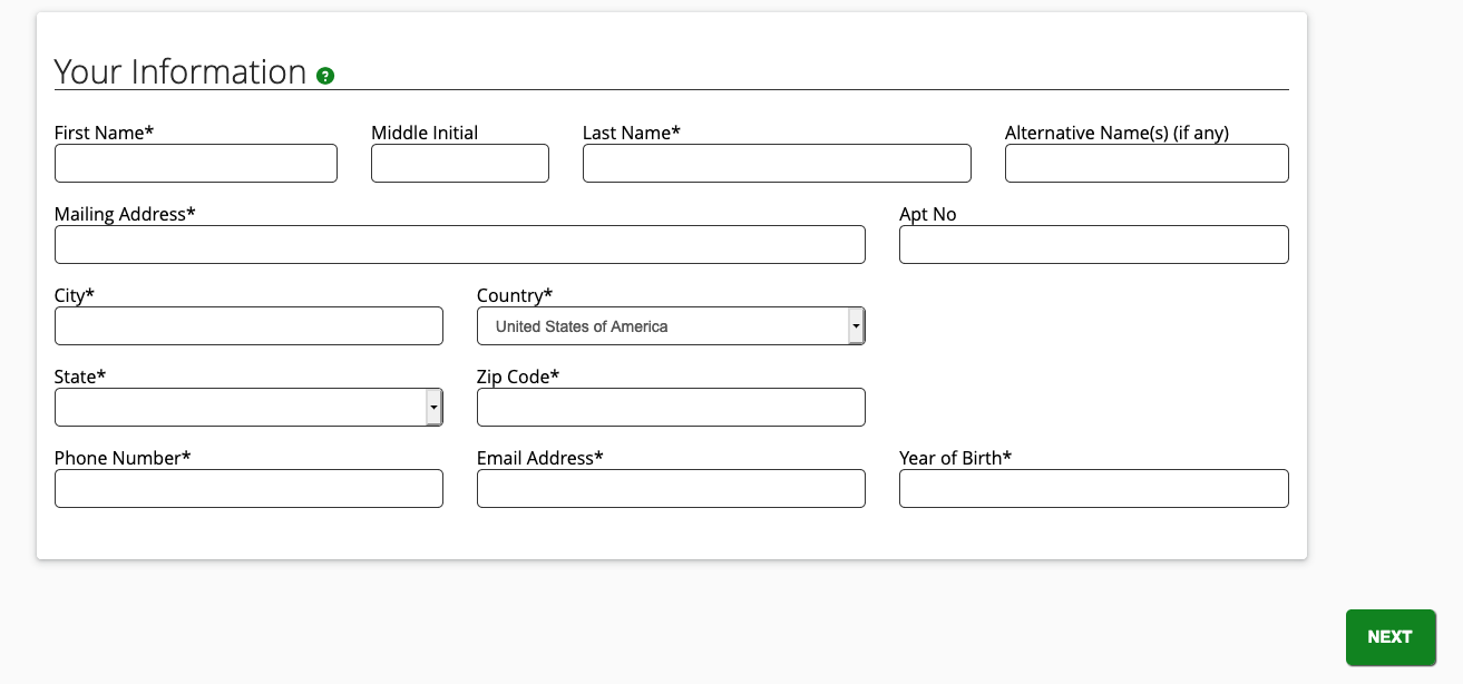 FTC form