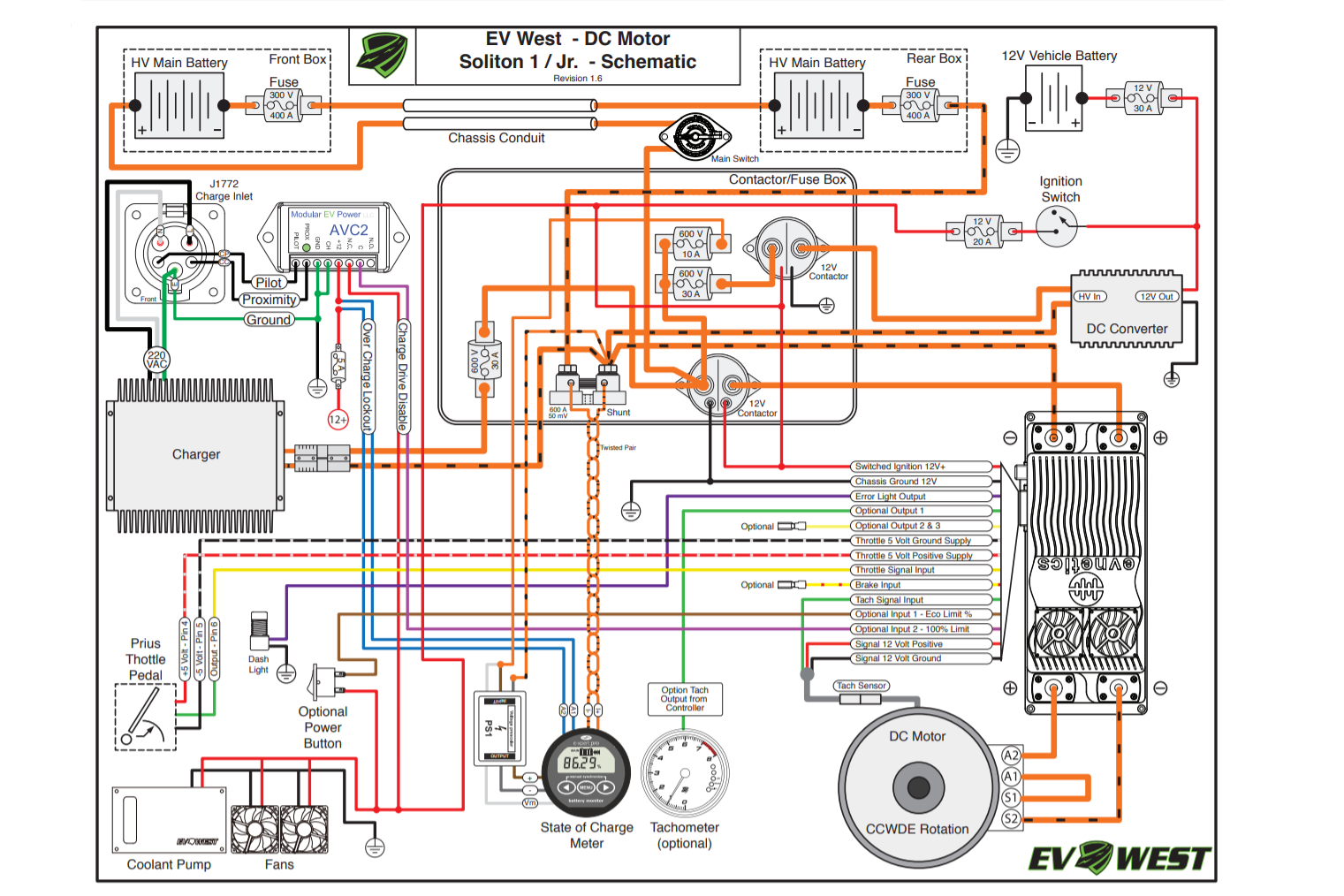 Should You Build Your Own Electric Car, Kit Car Wiring Diagram
