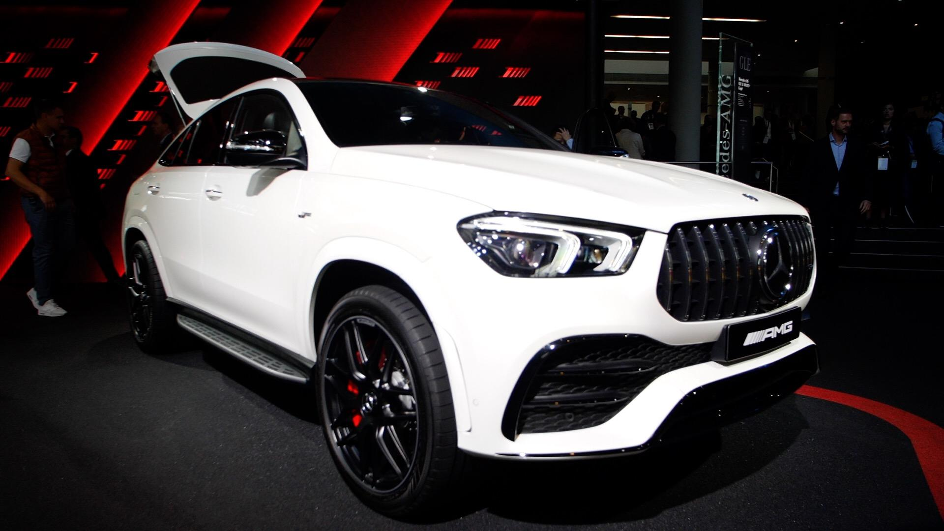 Video: 2021 Mercedes-AMG GLE53 Coupe: A sleeker GLE53... if you're into that