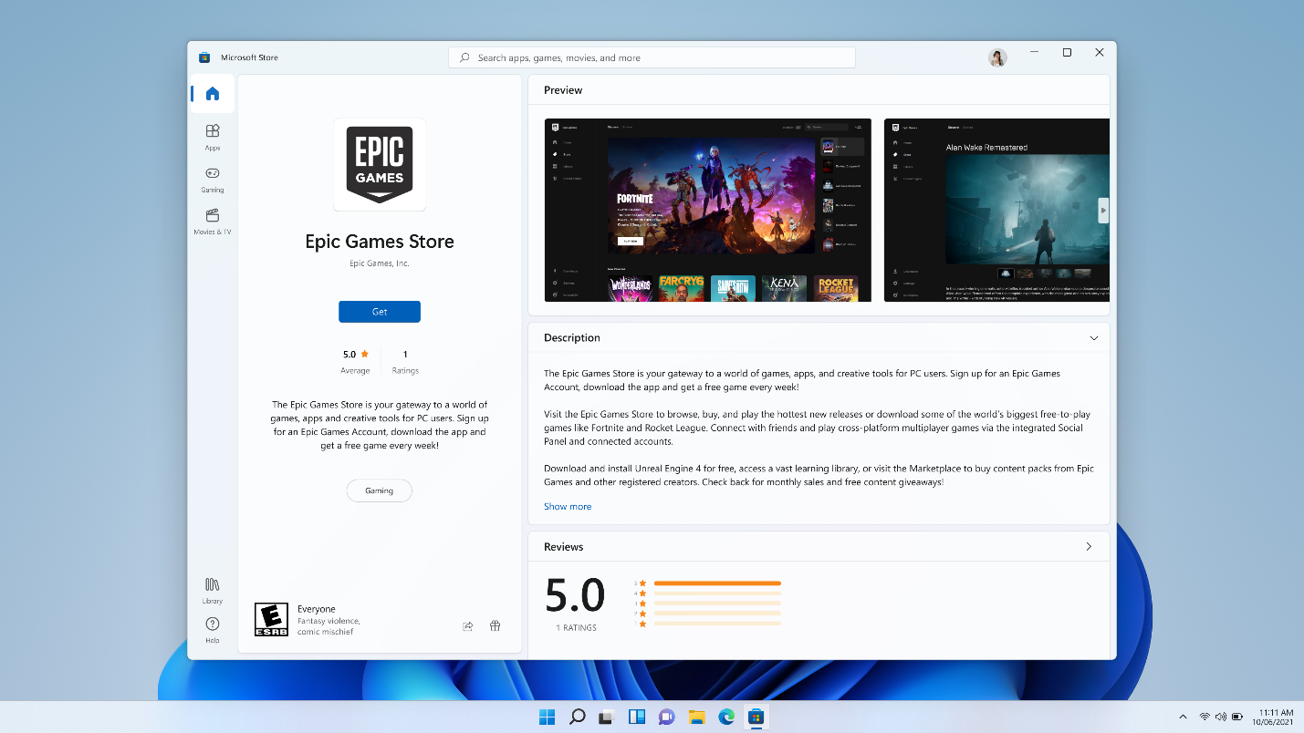 Microsoft Store on Windows to allow third-party storefront apps like Amazon, Epic Games - CNET