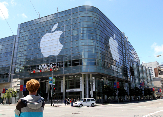 Moscone North, the usual place for Apple's annual Worldwide Developers Conference.