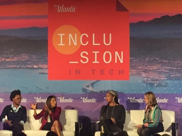 <p>More women need to speak out against harassment in tech said a panel at The Atlantic's Inclusion in Tech conference in San Francisco.</p>