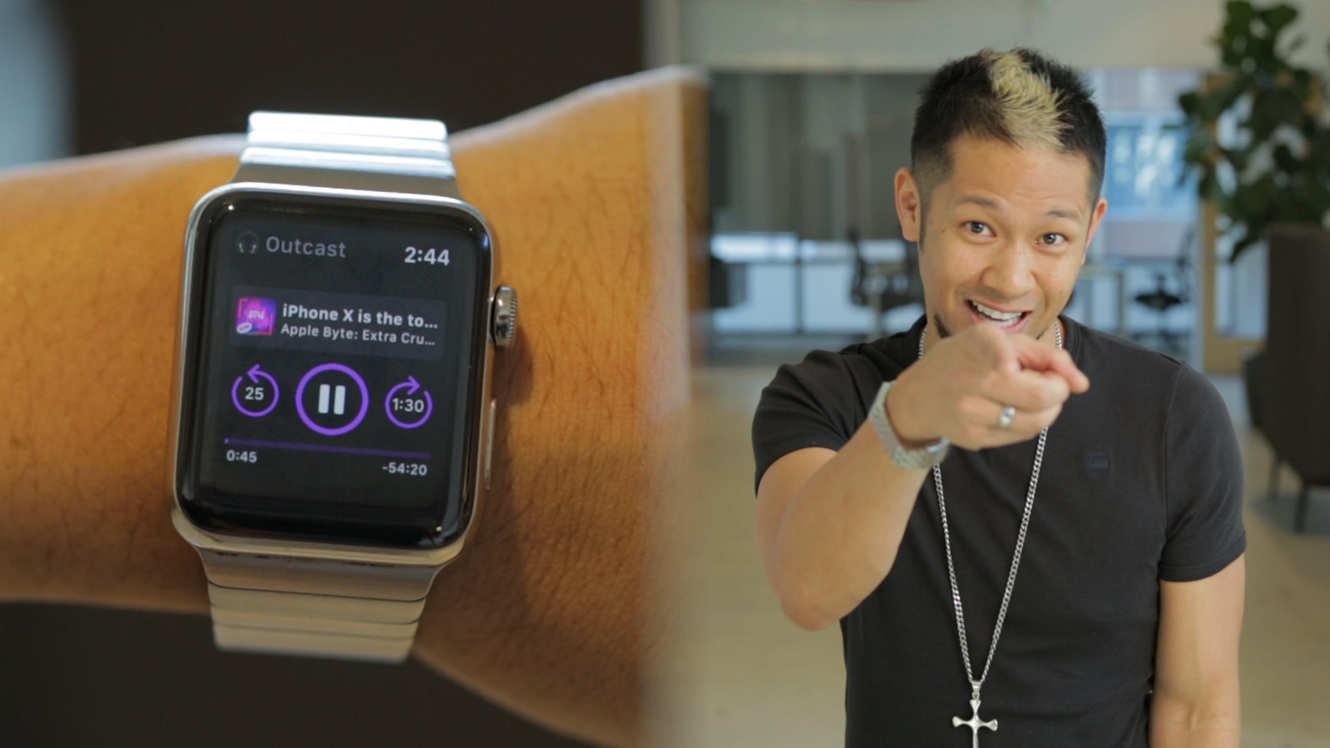 Video: Outcast is the best podcast app for the Apple Watch