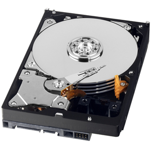 The new WD AV-GP hard drive from Western Digital.