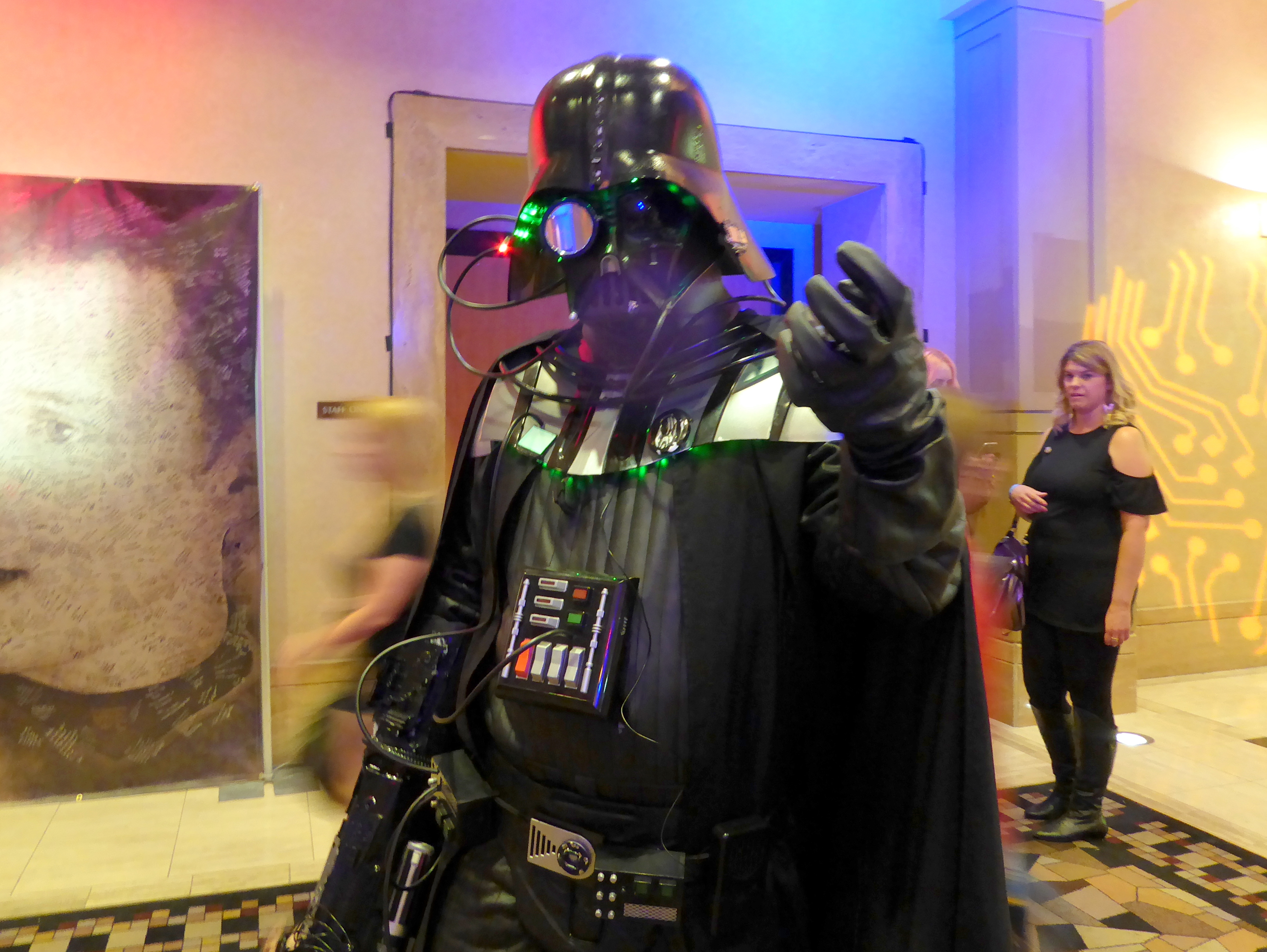 Darth Vader met the Borg...and lost