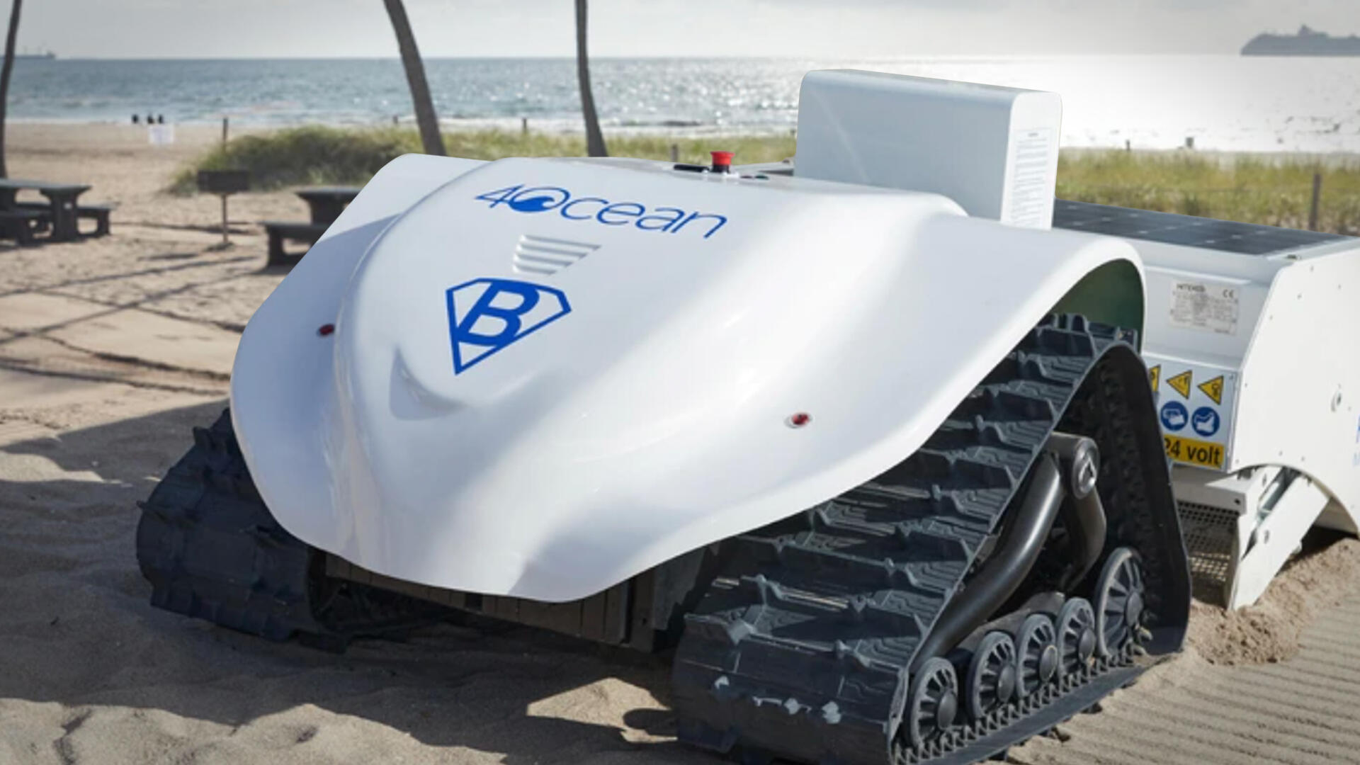 Video: Meet BeBot: The 100% electric beach-cleaning robot