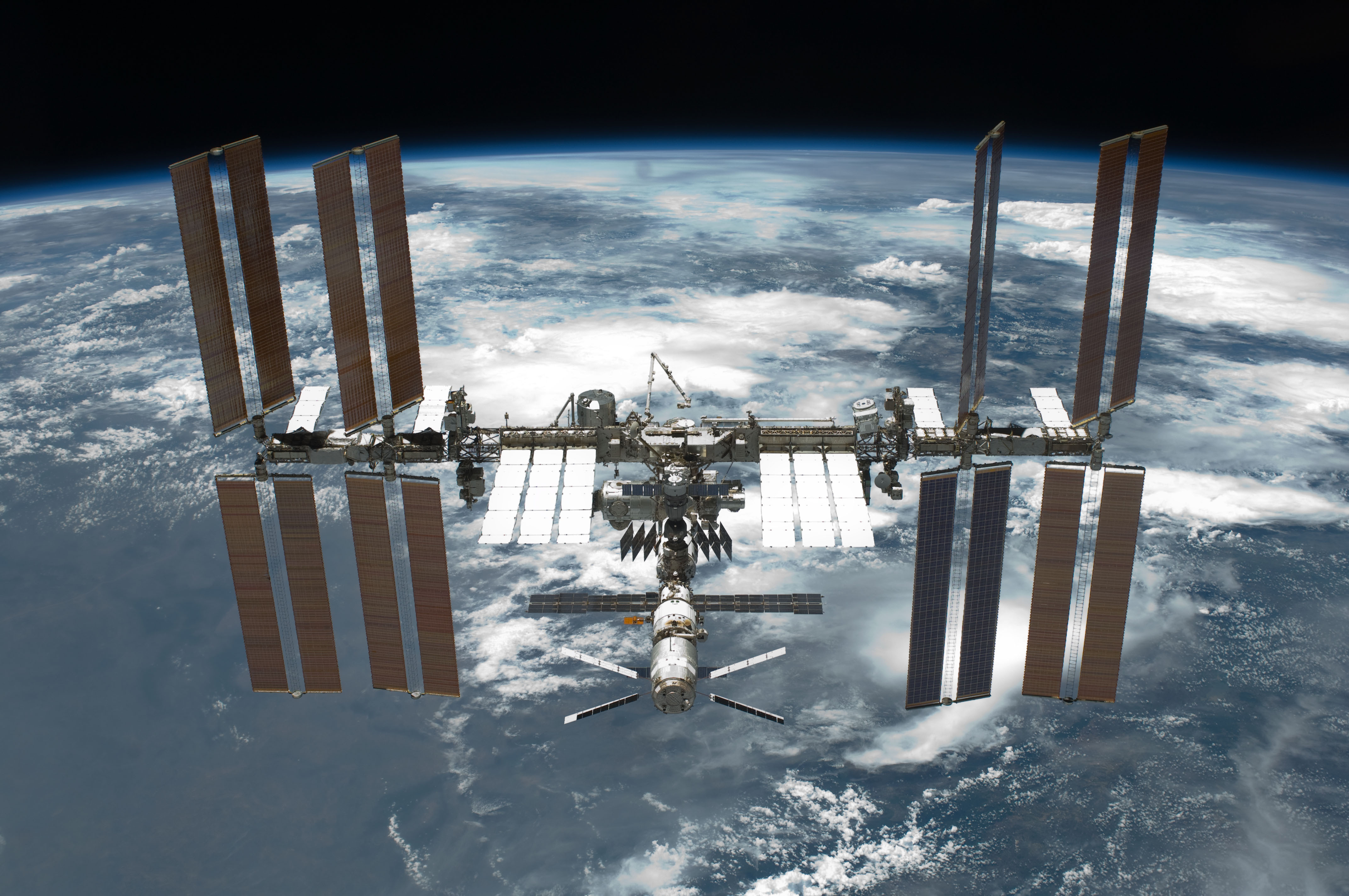 space junk ISS