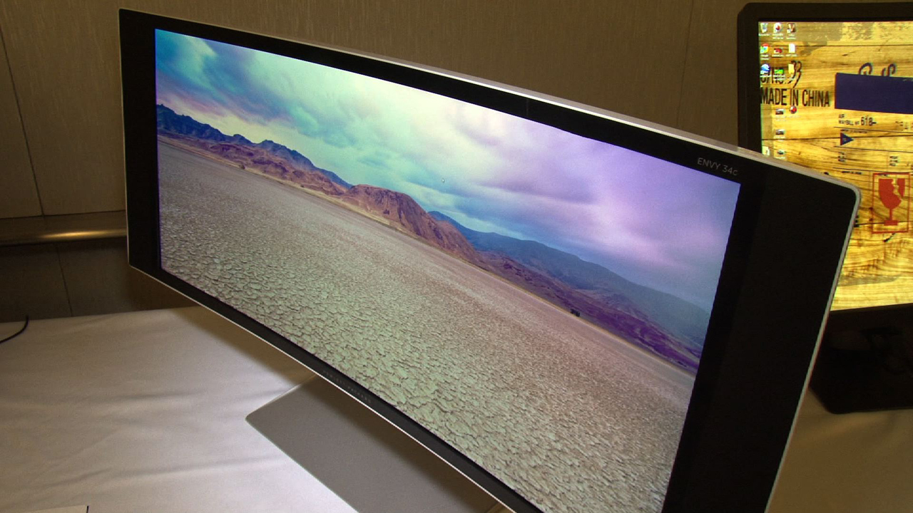 Video: HP UHD and curved displays