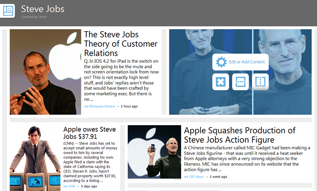 Microsoft Montage turns your Web searches into rich news albums.