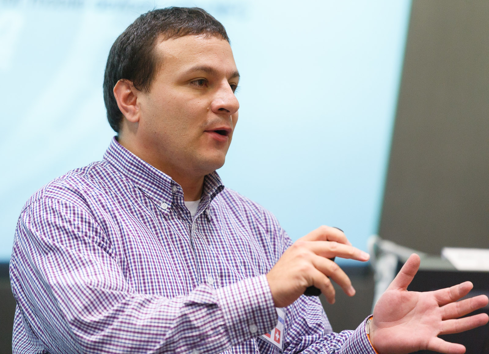 Diego Ortiz-Yepes of IBM Research in Zurich describes his approach for dual-factor authentication using mobile devices.