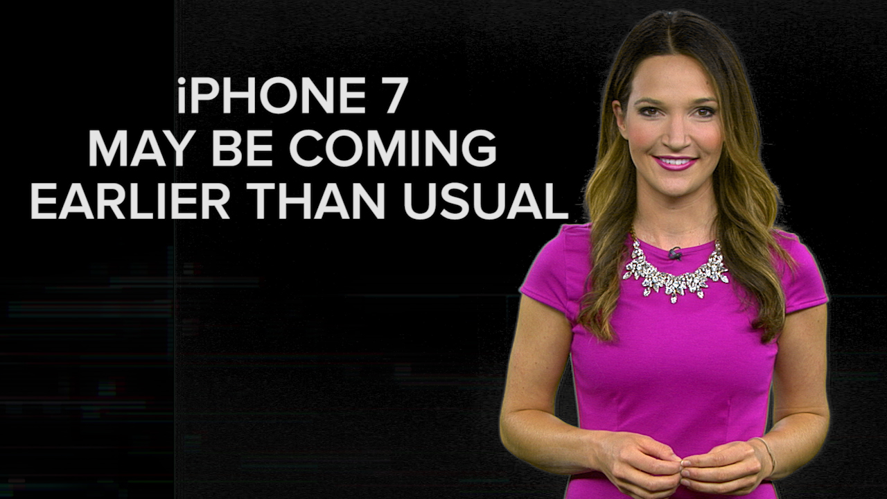 Video: iPhone 7 launch could be coming early this year