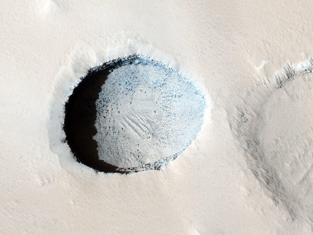 Scientists joke about Mars sarlacc pit