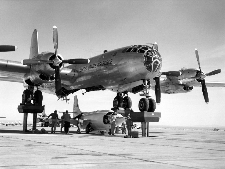 X-1 and B-50