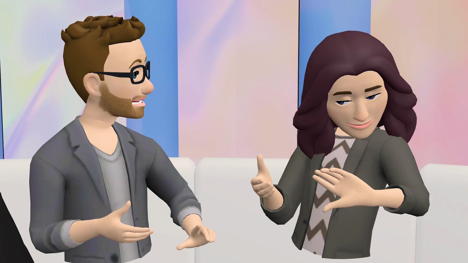 Video: A preview of Facebook's new Oculus VR avatars