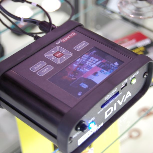 The DIVA HD module has been upgraded to receive 720p video.
