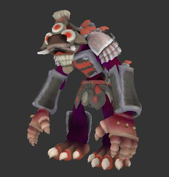 This WebGL demo shows 3D Collada files--in this case a Spore video game creature.