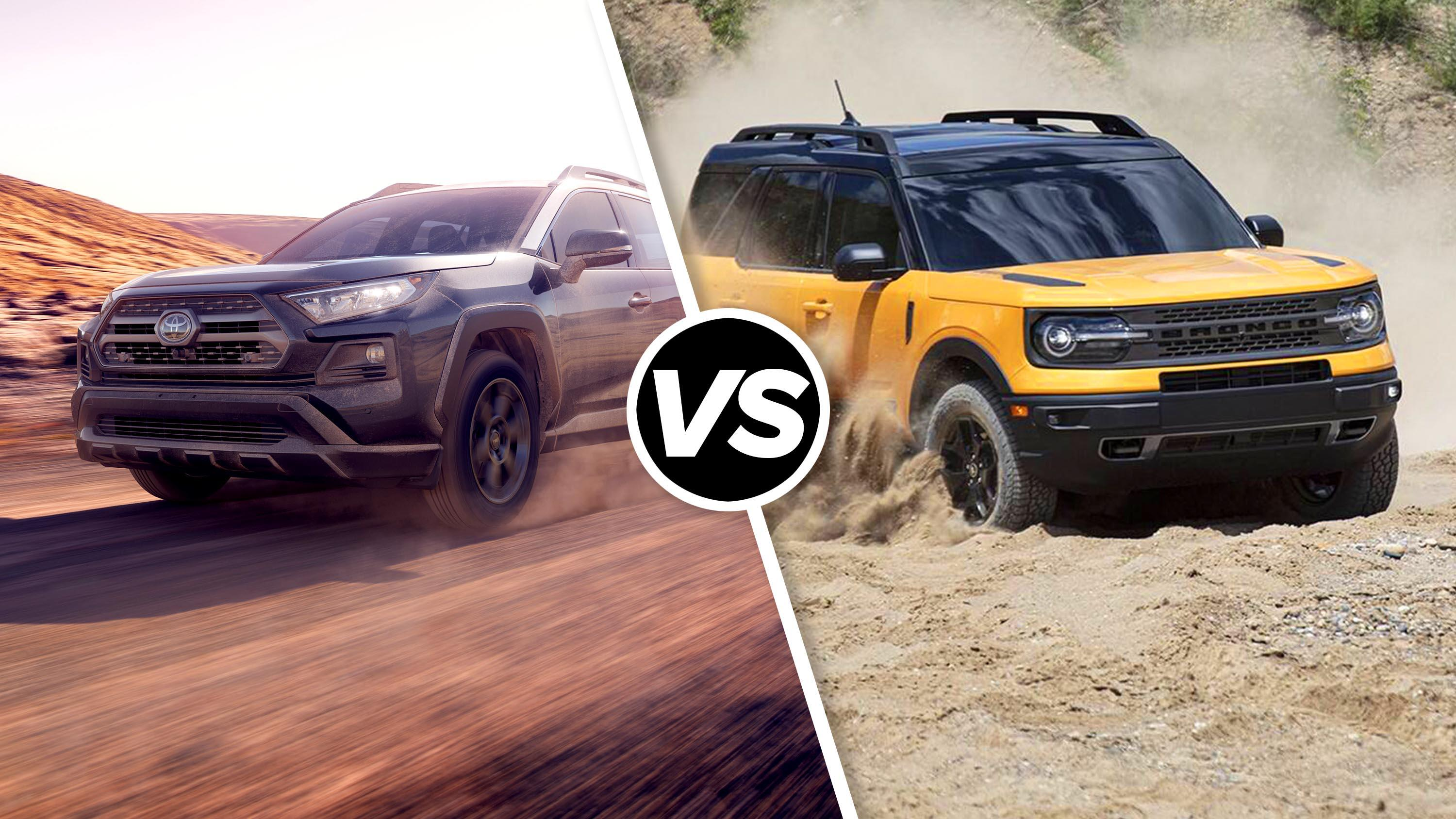 Video: Ford Bronco Sport vs. Toyota RAV4 TRD Off-Road: Small dirt comparo