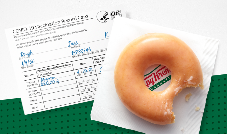 Vaccines, and free Krispy Kreme doughnuts, are now available for people 16 and up     - CNET