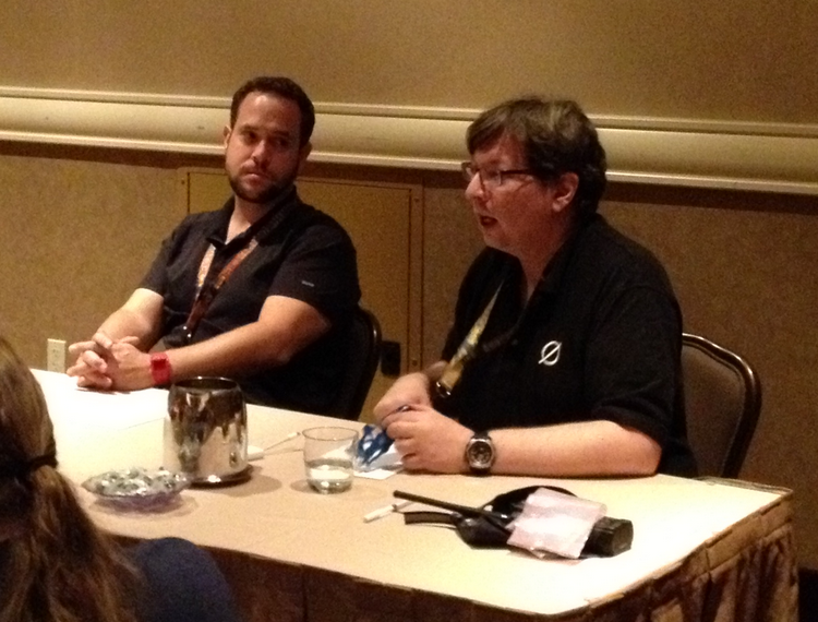 At Defcon, Kevin Bankston of the Center for Democracy and Technology and cryptography expert Matt Blaze discussed the legal and ethical ins and outs of Wi-Fi interception.