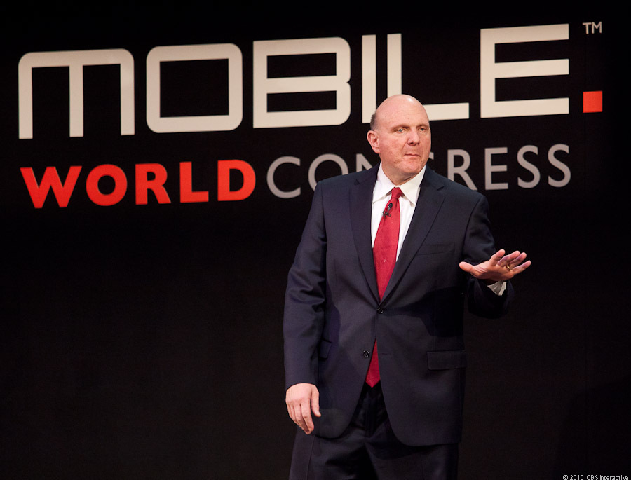 Steve Ballmer at Mobile World Congress