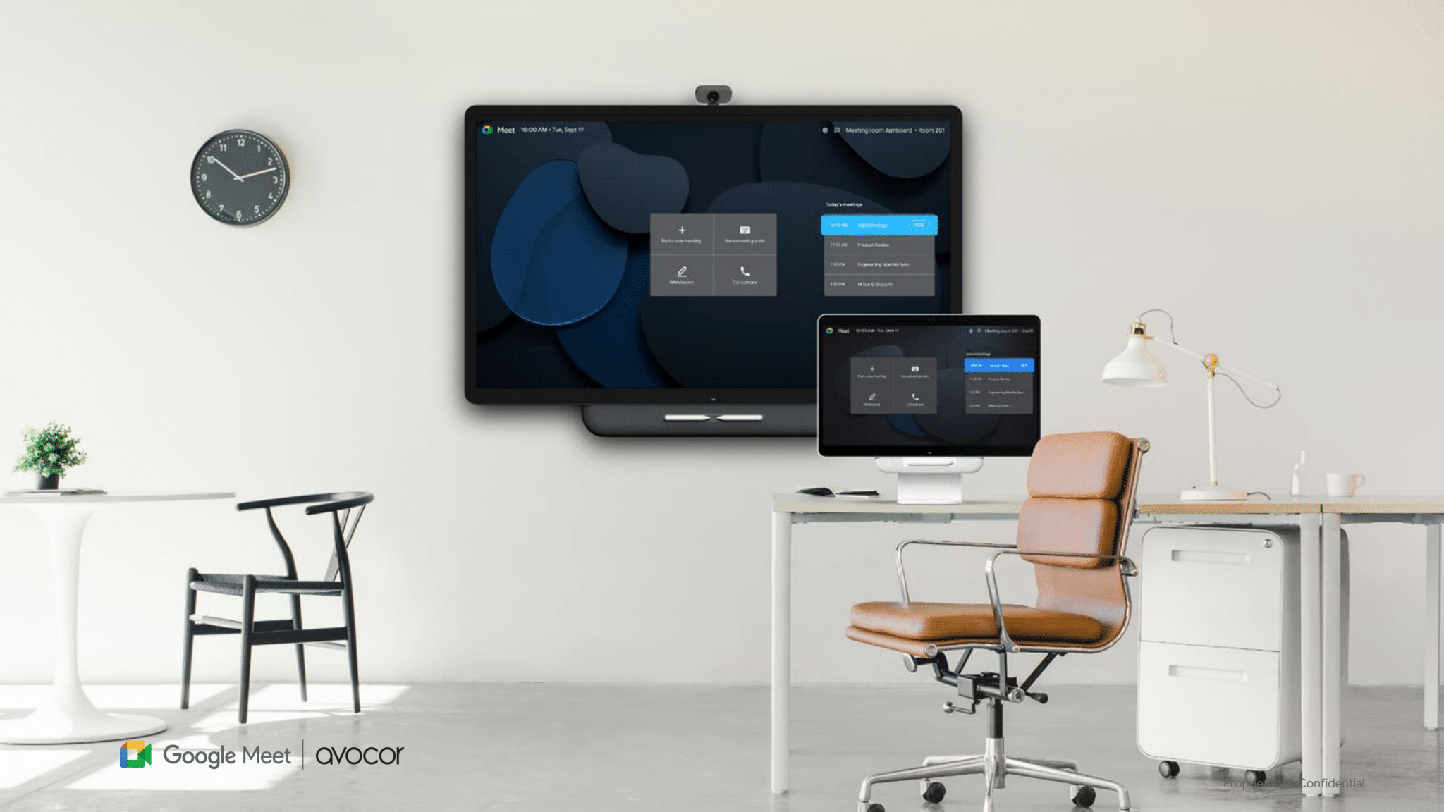 Avocor teams up with Google to release new teleconferencing hardware