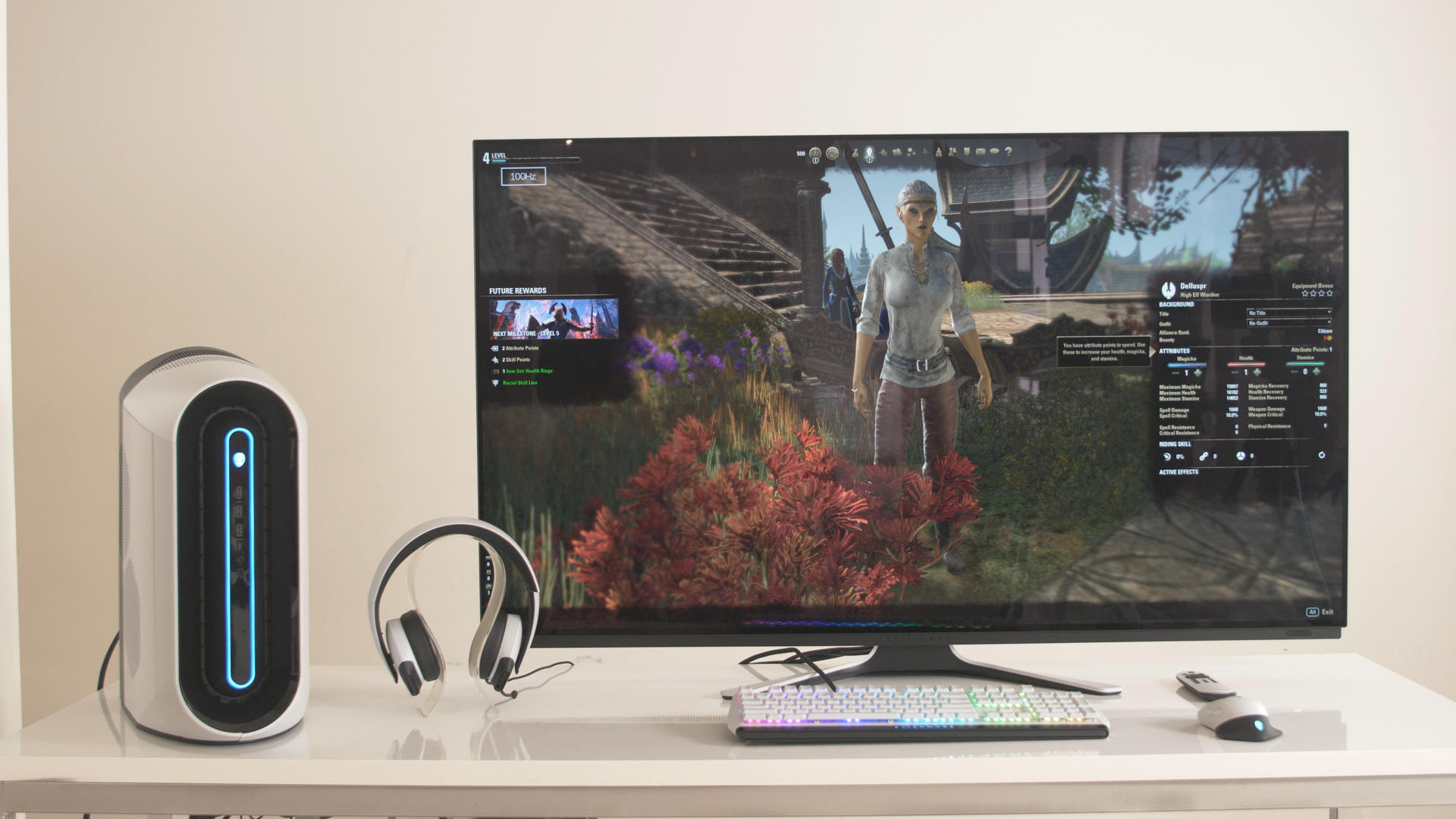 Video: Alienware's $4,000 55-inch OLED gaming monitor will land soon