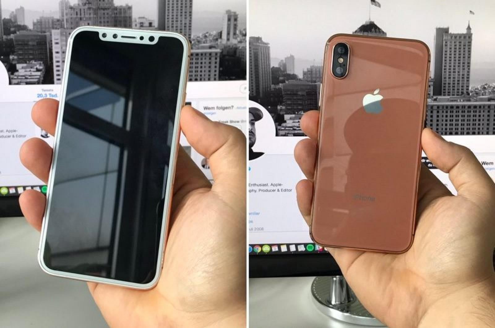 The iPhone 8 dummy