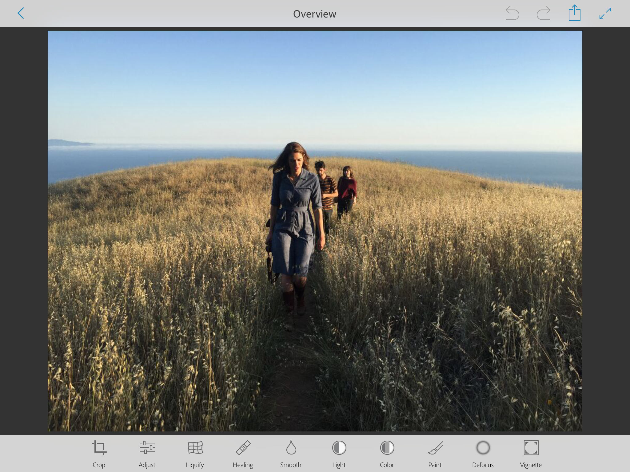 Adobe's Project Rigel, due in October, offers a new Photoshop alternative for mobile devices.