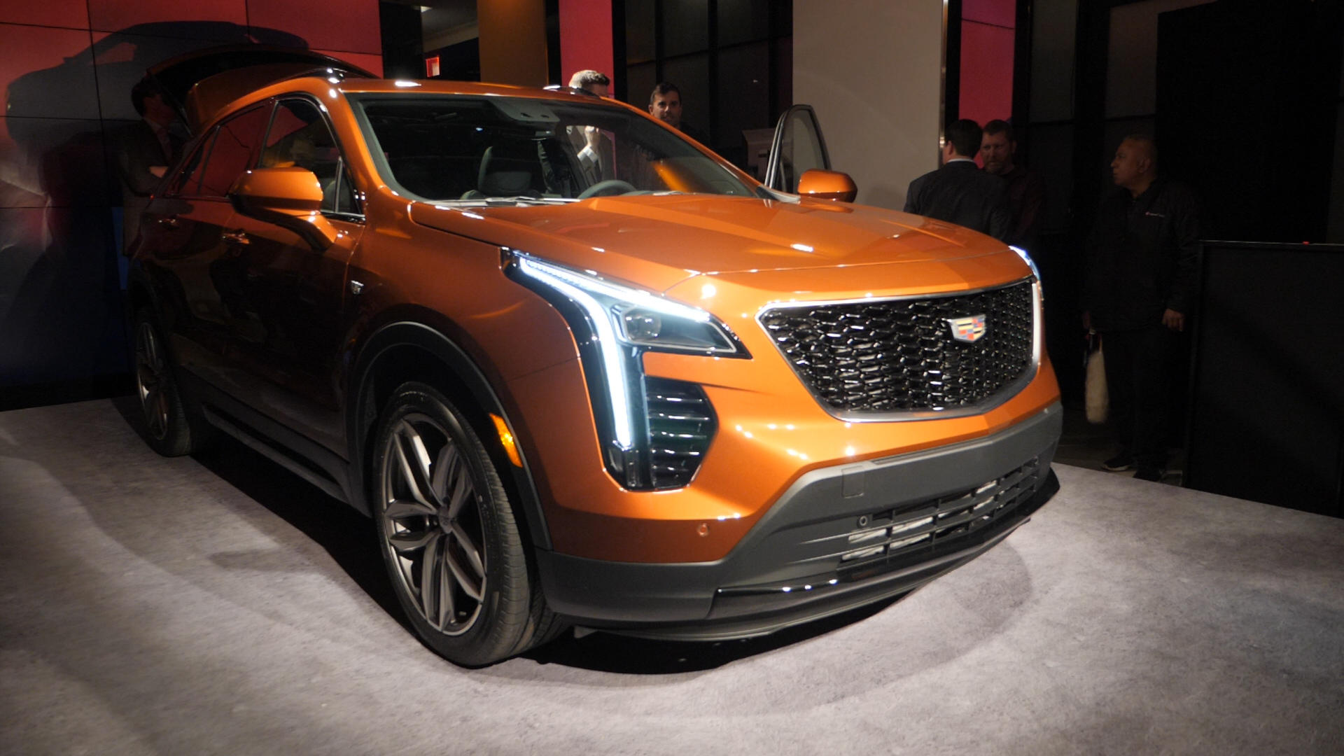 Video: Compact Cadillac XT4 brings turbo power to New York