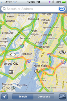 Is Google Maps due to be replaced by Apple's own Maps app in iOS 6?