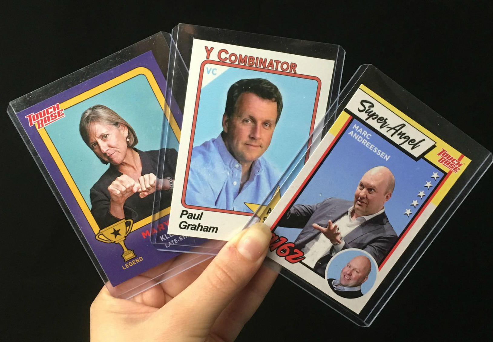 <p>Marc Andreessen is one of many venture capitalists that you can collect in a new set of VC Trading Cards.&nbsp;</p>