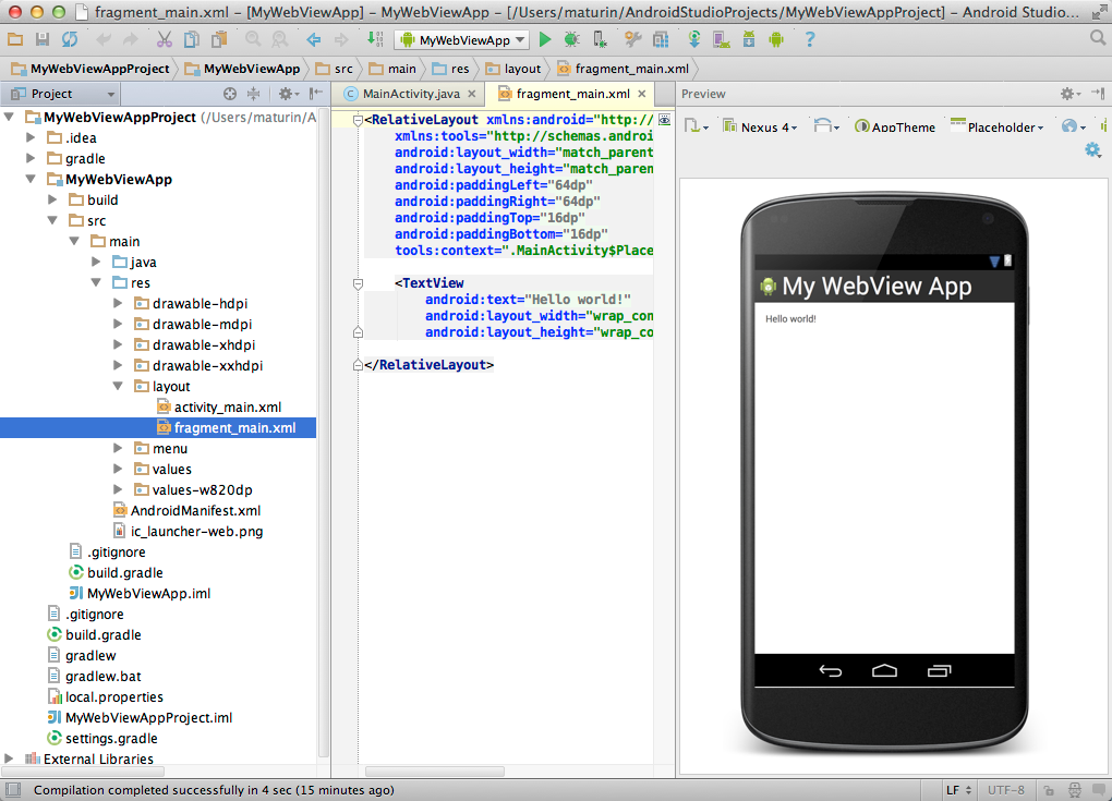 With KitKat, Programmers now can build apps using a Chrome-based version of Android's WebView interface.