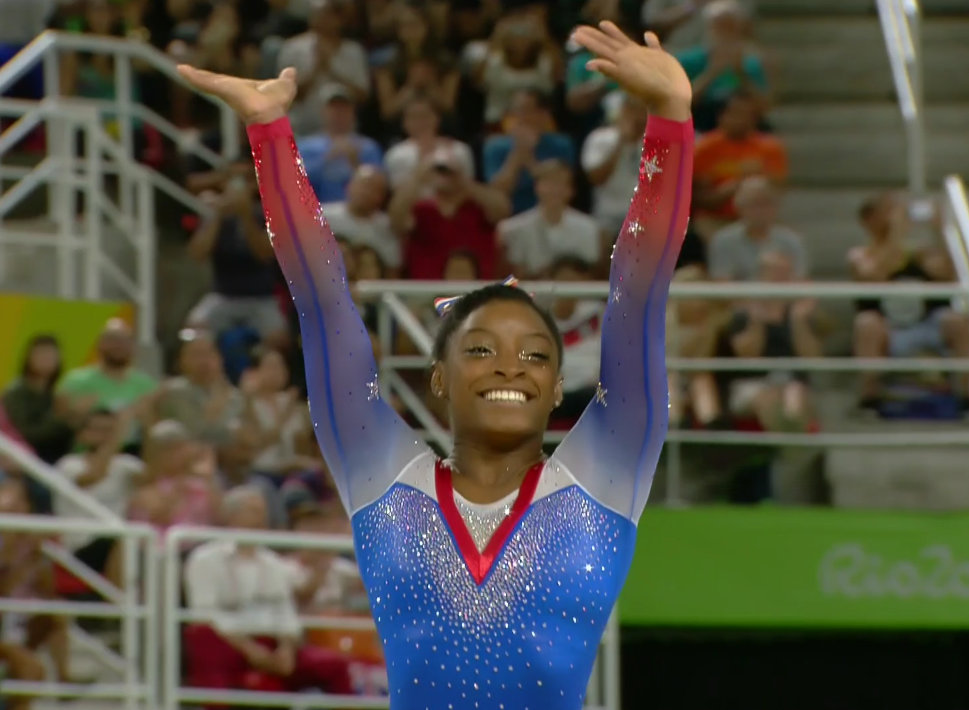 1997: Simone Biles' birth