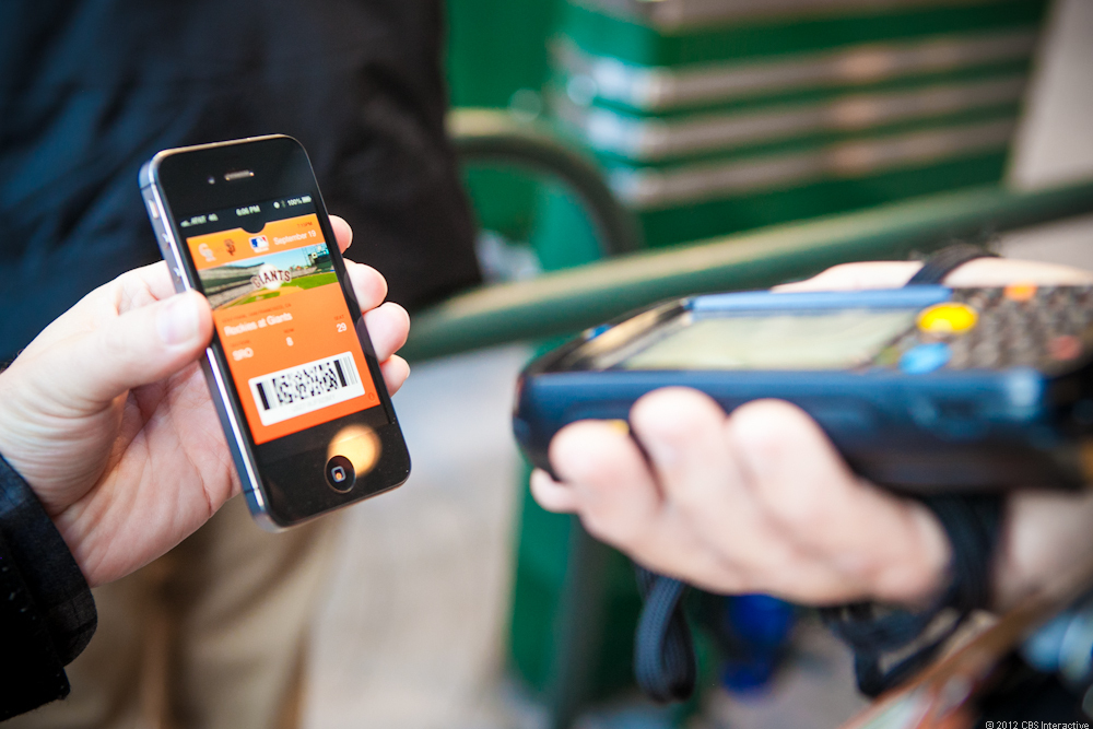 The SF Giants ticketing system now works with Apple's Passbook.