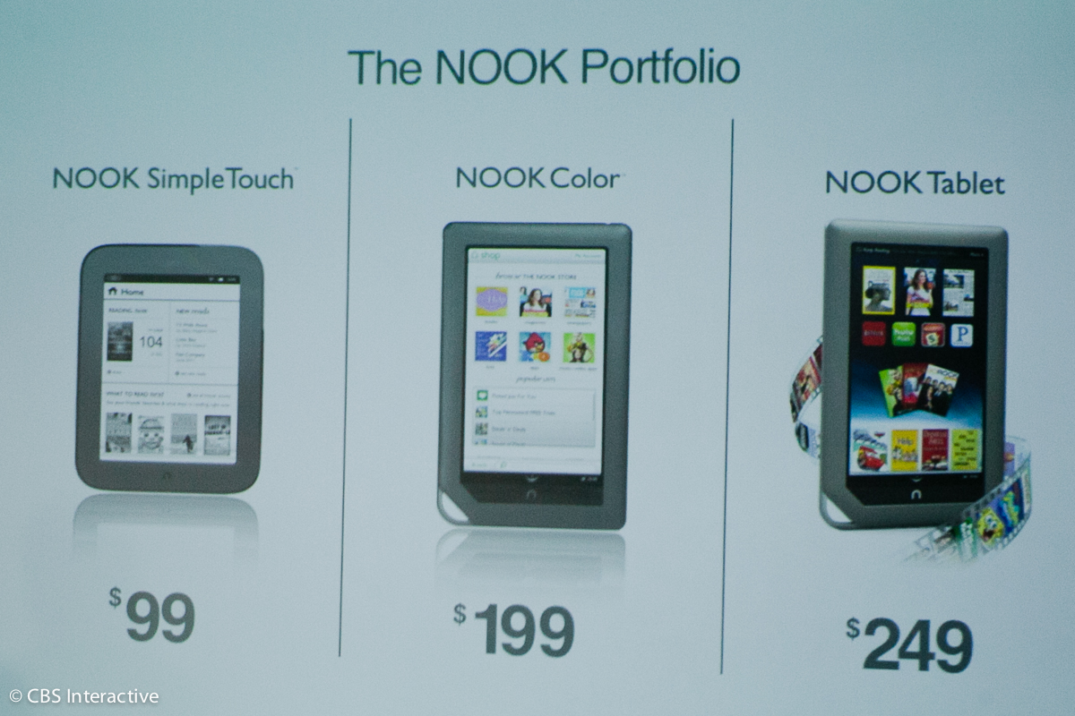 New Nook pricing structure