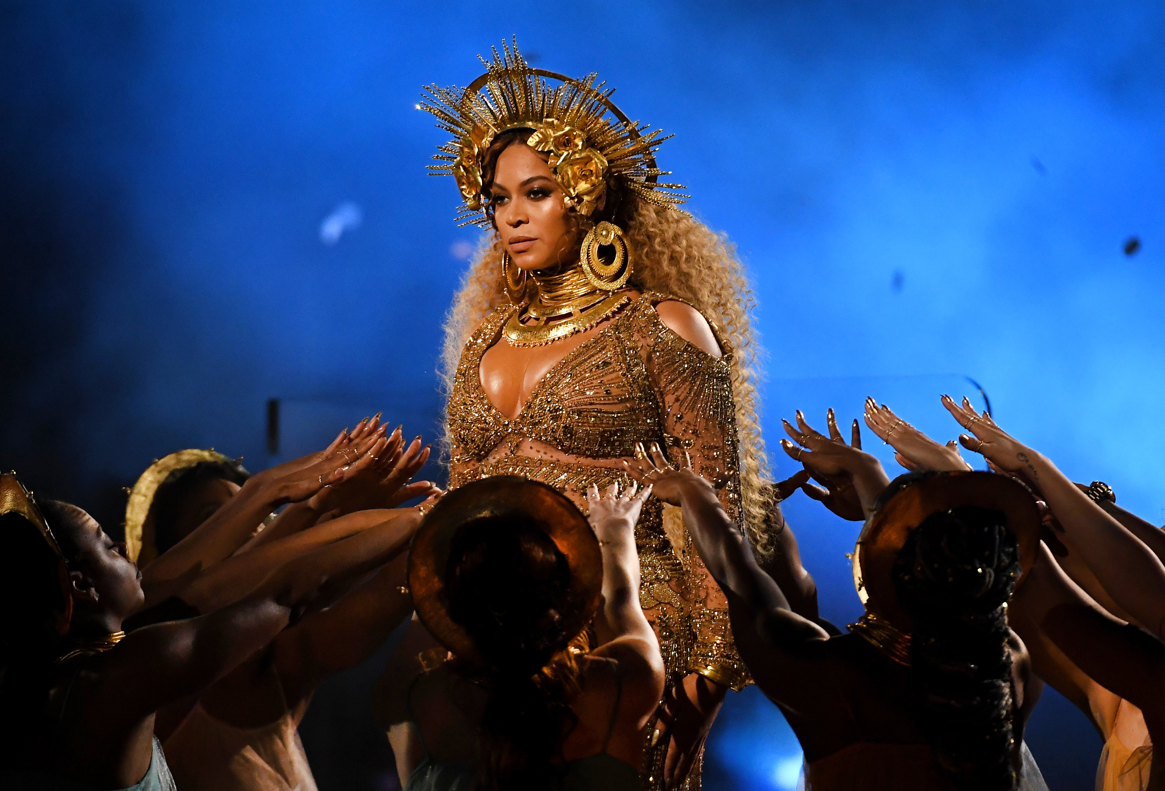"""<p>Beyoncé missed out on a best-album Grammy earlier this month for """"Lemonade"""" because of Adele's five-trophy sweep.</p>"""