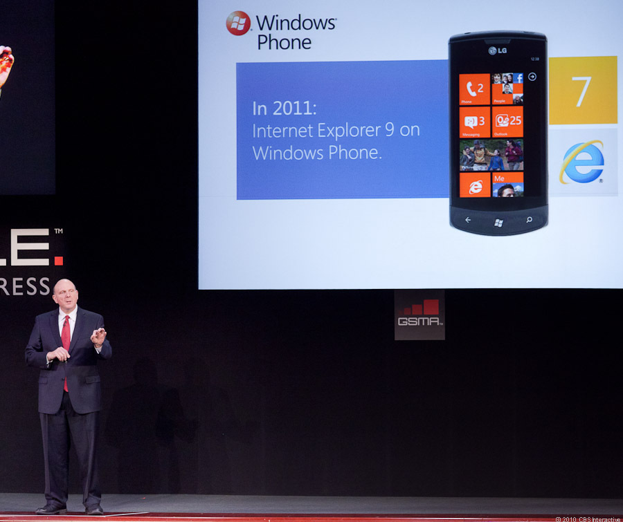 IE9 coming to Windows Phone 7
