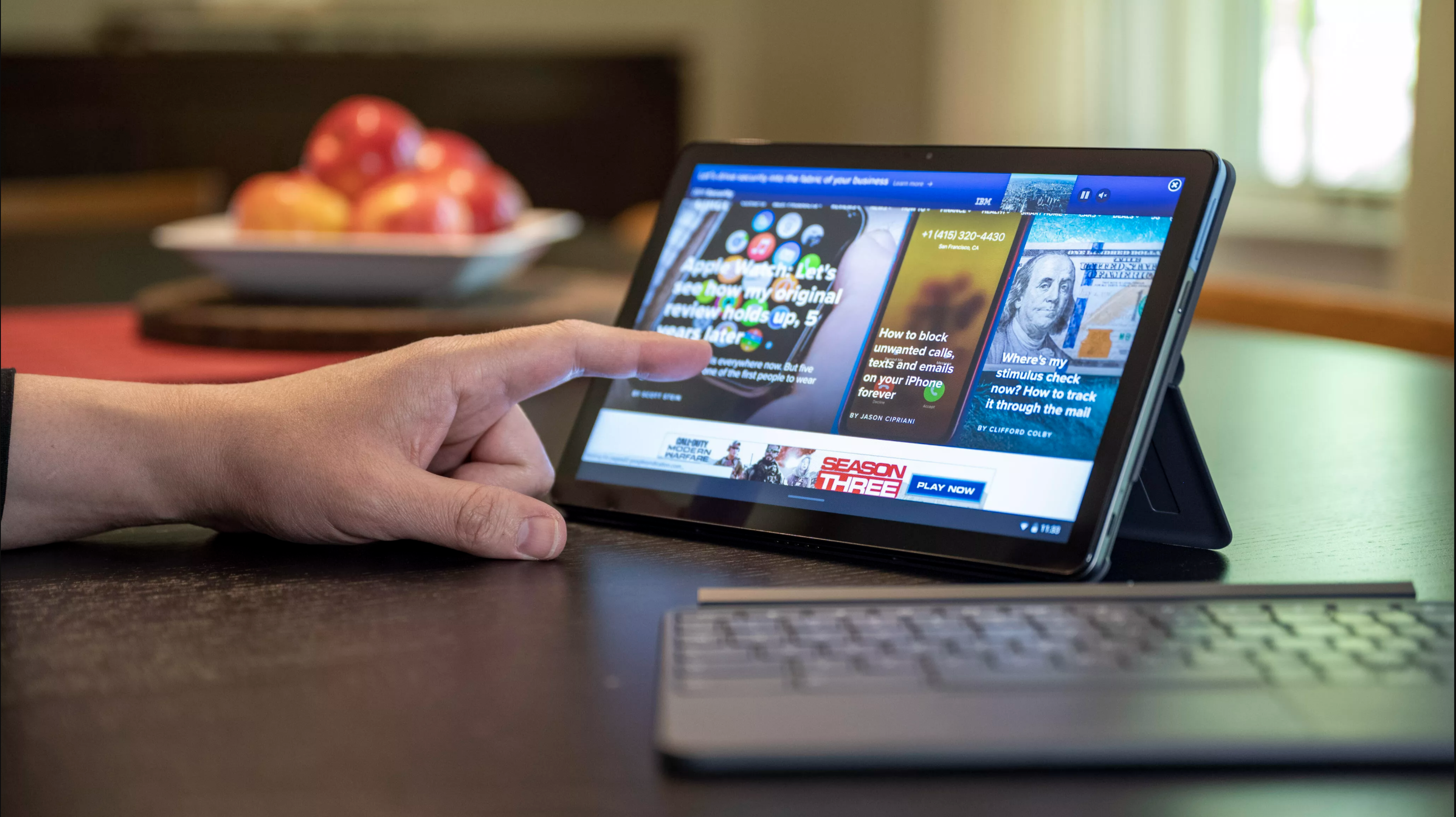 Video: Lenovo's IdeaPad Duet Chromebook 2-in-1 is a little workhorse for less
