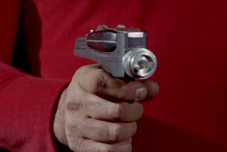 Phaser used on screen
