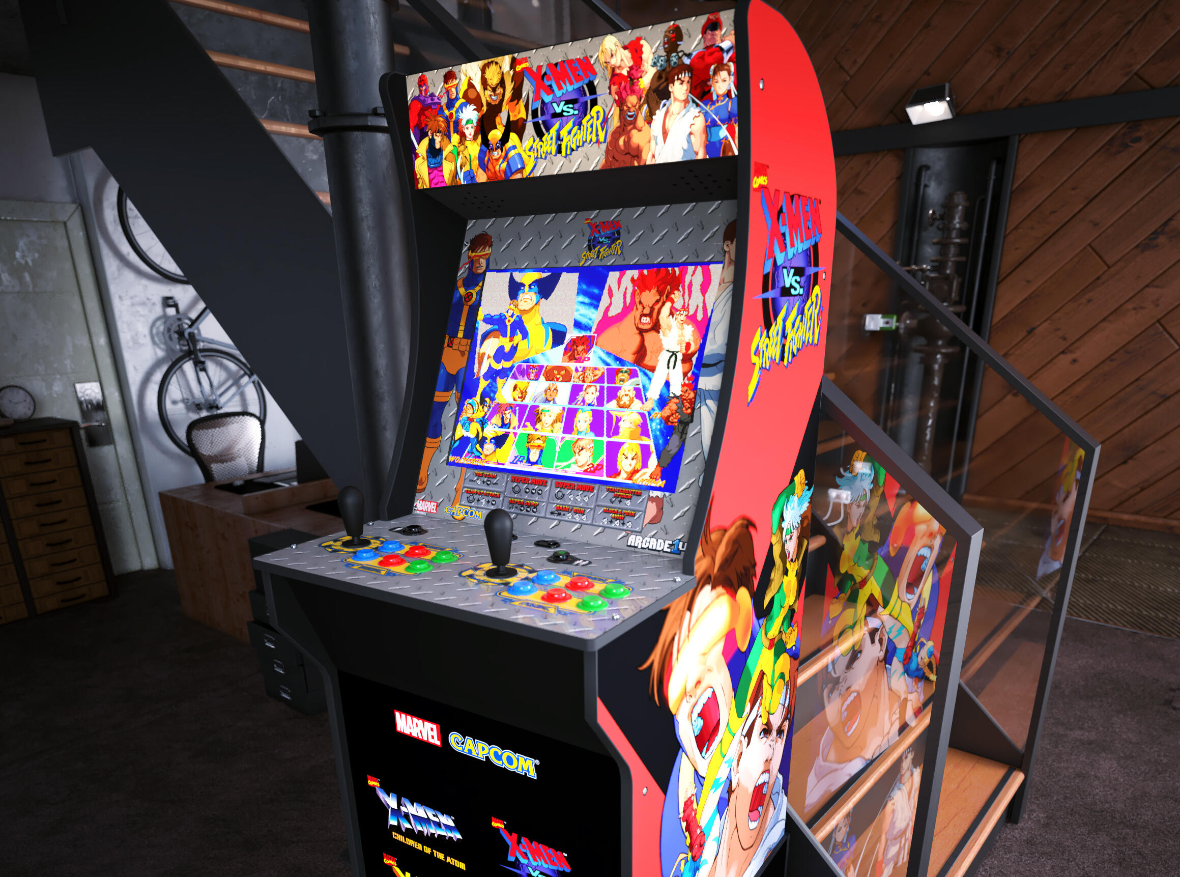 <p>The Arcade1Up&nbsp; X-Men vs. Street Fighter looks pretty sweet, if you've got the space.</p>