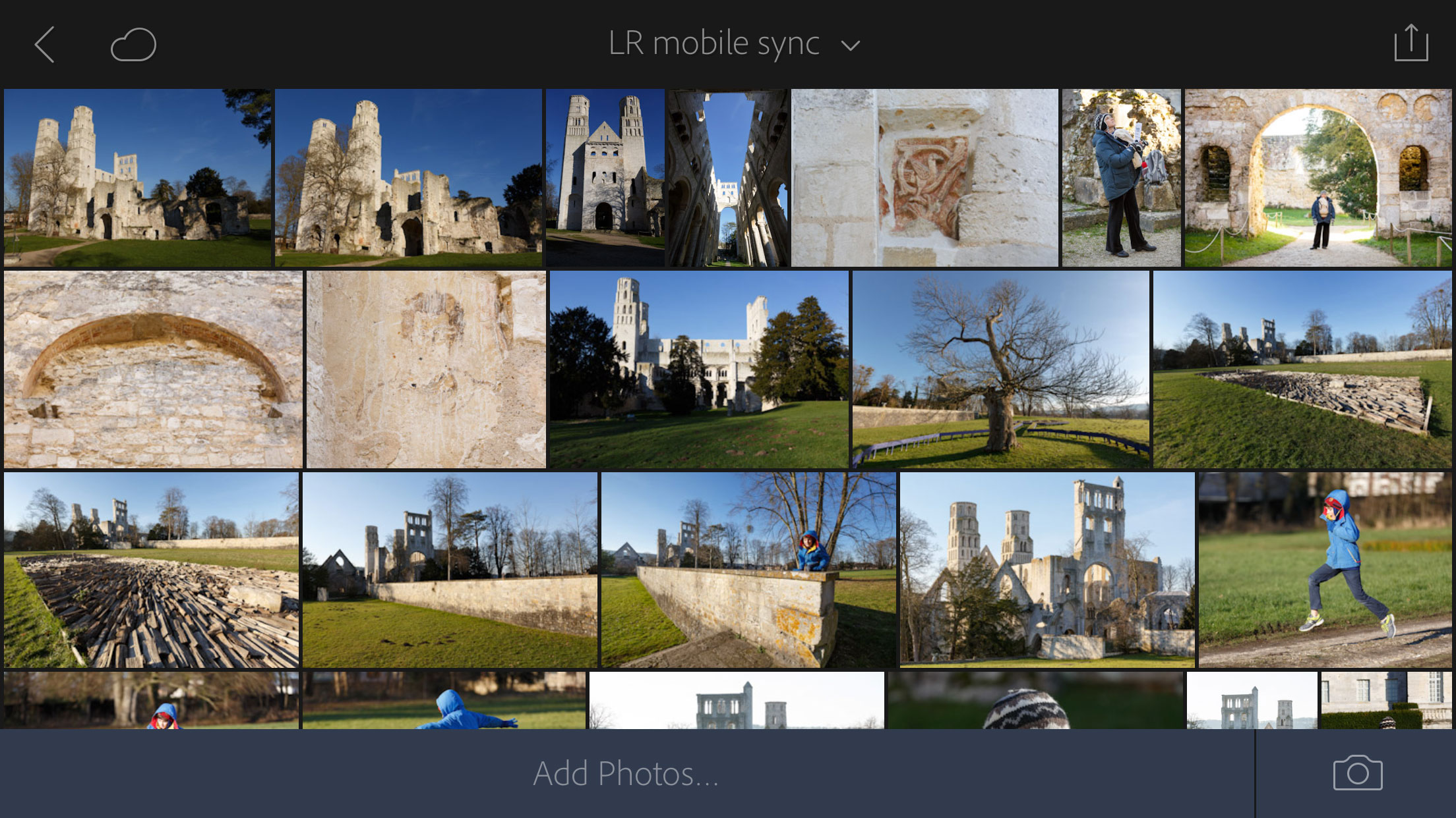 Lightroom now is available on phones and devices powered by Google's Android and Apple's iOS.