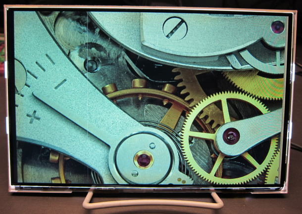 A super high-resolution 10.1-inch panel from Nouvoyance.