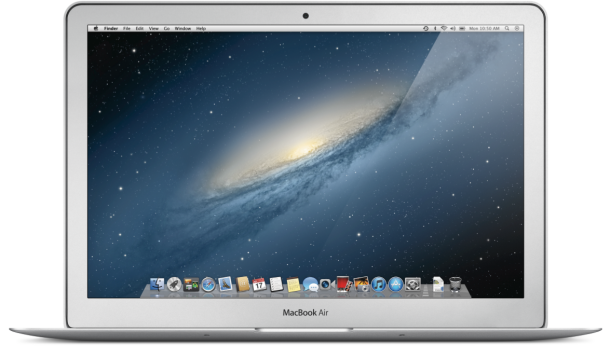 Apple's MacBook Air.