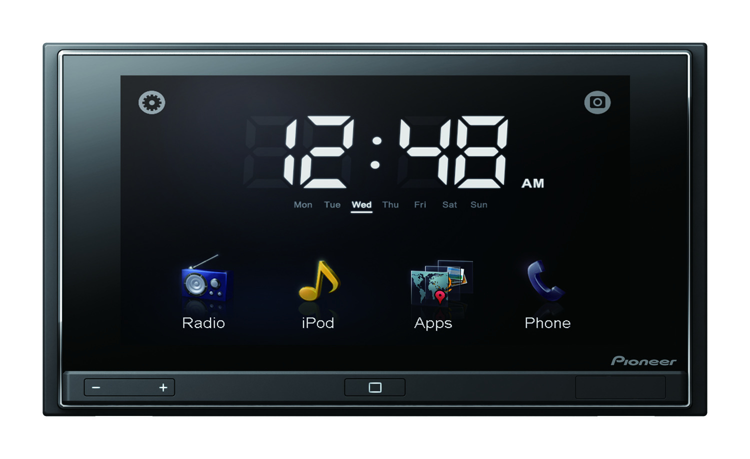 Pioneer's AppRadio integrates tightly with the user's connected smartphone and its apps.