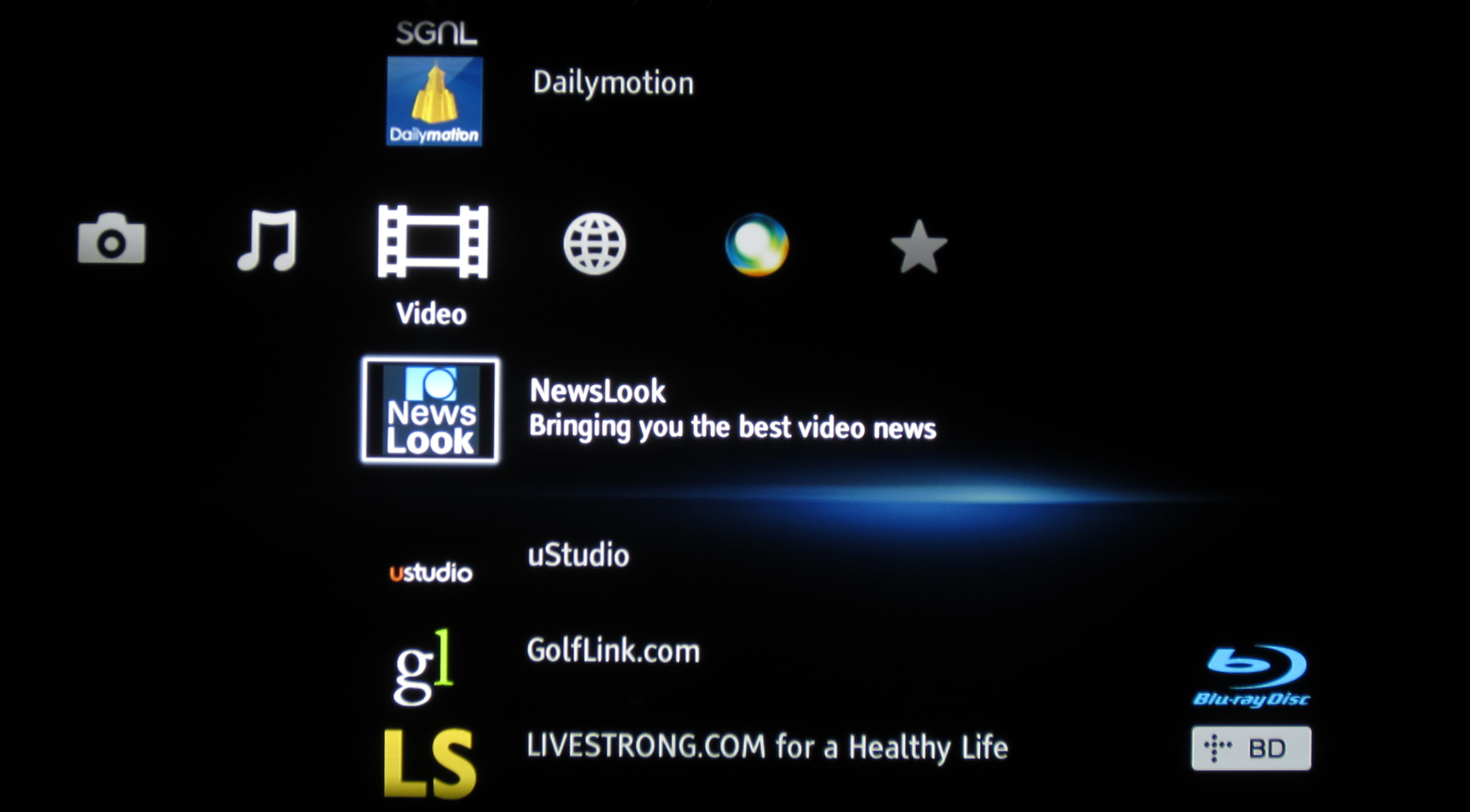 Tons of niche video apps