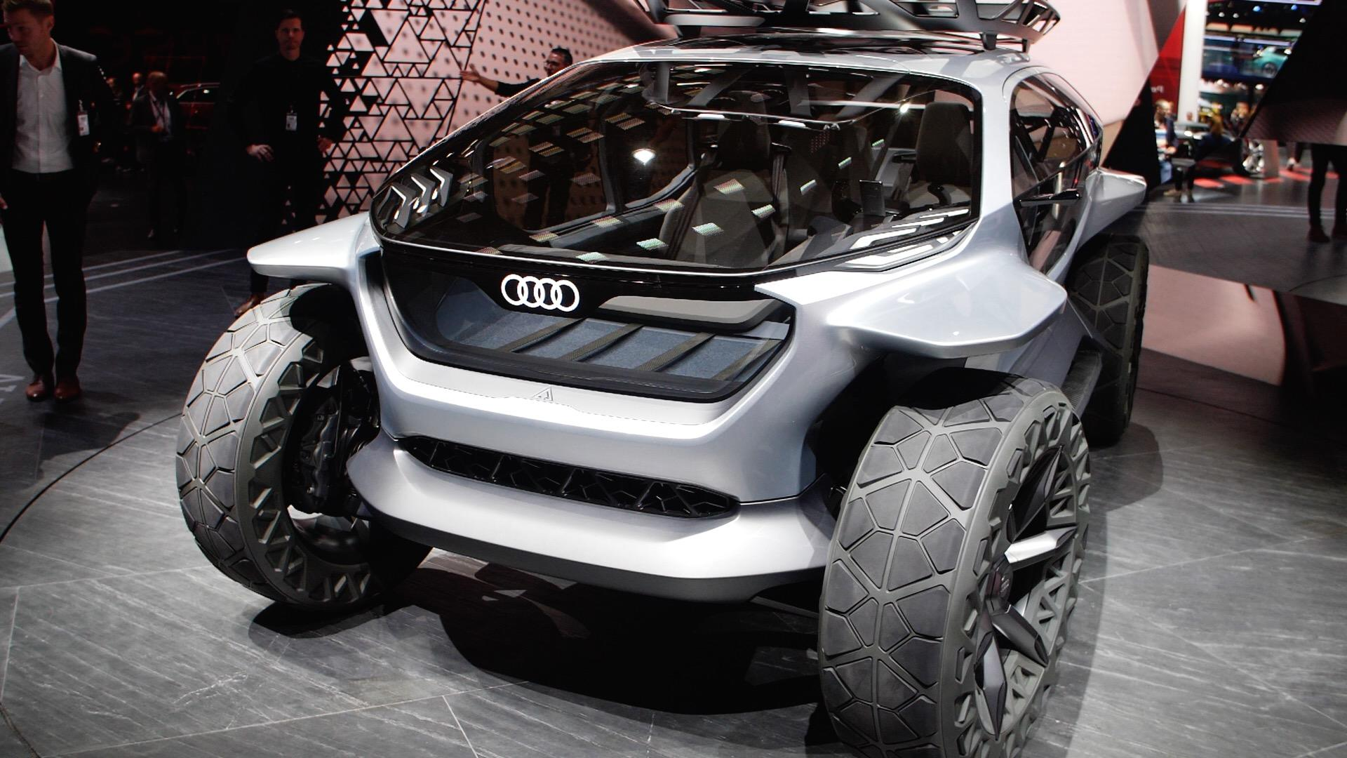 Video: Audi AI:Trail: An autonomous off-roader with its own fleet of drones