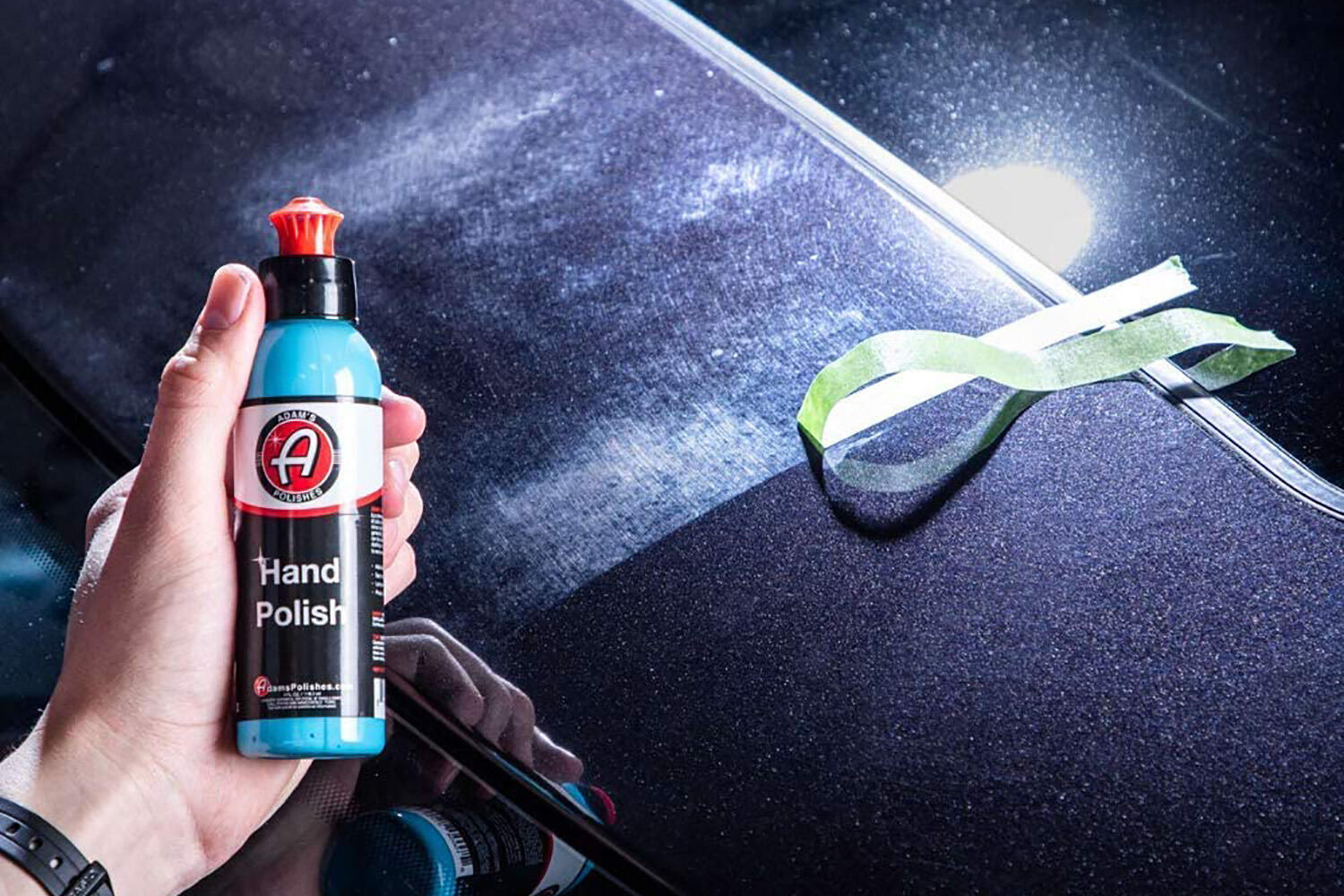 Adam's Car Scratch & Swirl Remover Hand Correction System