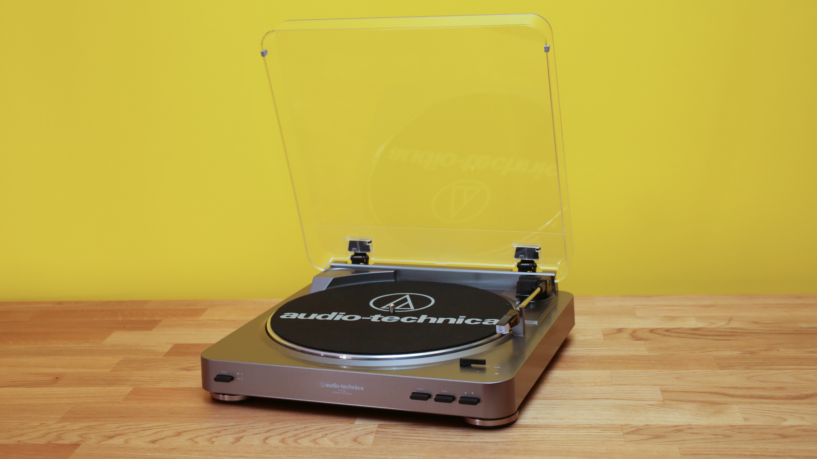 A beginner's turntable for the vinyl revival